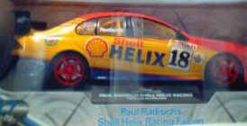 1:18 Classic Carlectable 18018 Paul Radisich 2000 Shell Racing Falcon