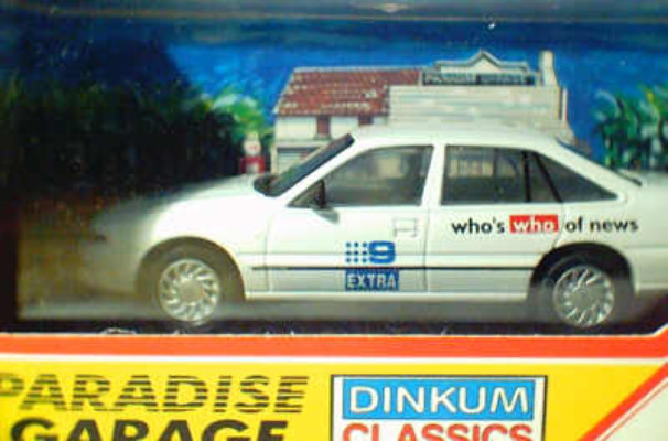 Holden Commodore - Channel 9 News