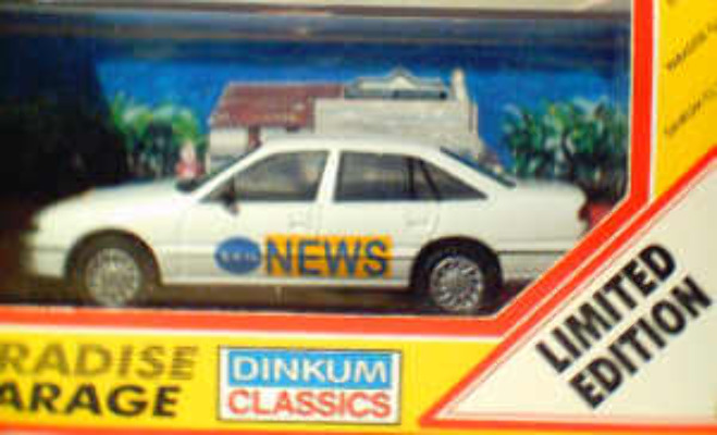 Holden Commodore Channel 10 News