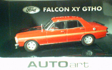 1:43 Biante Ford Falcon XY GTHO Track Red