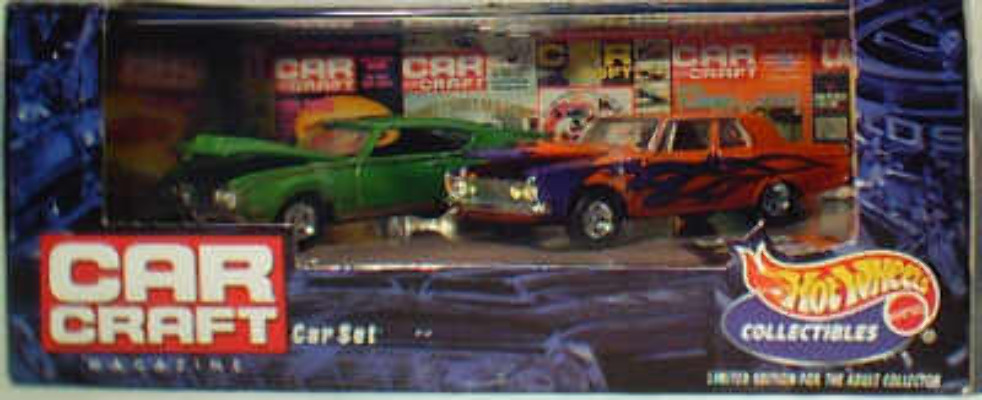 HW Car Craft Mag - Mussle Car set 5 1:64