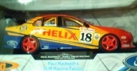 1:18 Classic Carlectable 18021 Paul Radisich DJR Falcon 2001