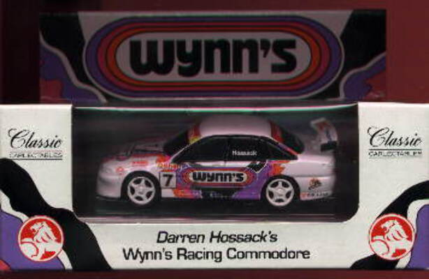 1:43 Classic Carlectables 1007/1 VS Holden Wynns Racing 97 'K-Mart' D.Hossack