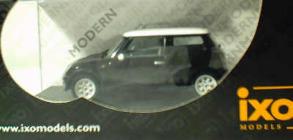 2001 Mini Cooper - Black 1:43