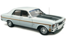1:18 Classic Carlectable18303 Ford XW GT-HO Phase 11 Diamond White