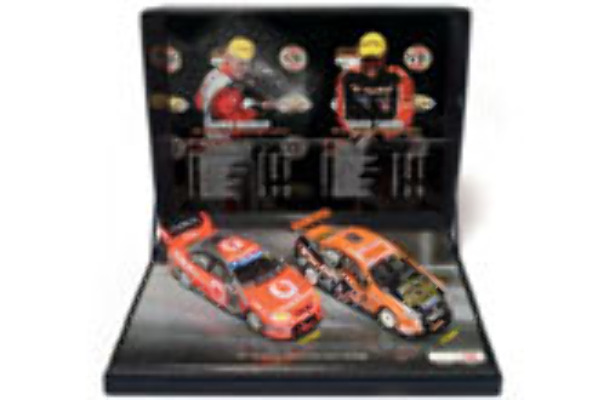 1:43 Classic Carlectables  43657 2007 Championship twin pack
