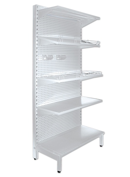 Gondola Shelving 2100 SINGLE SIDED ADDON BAY