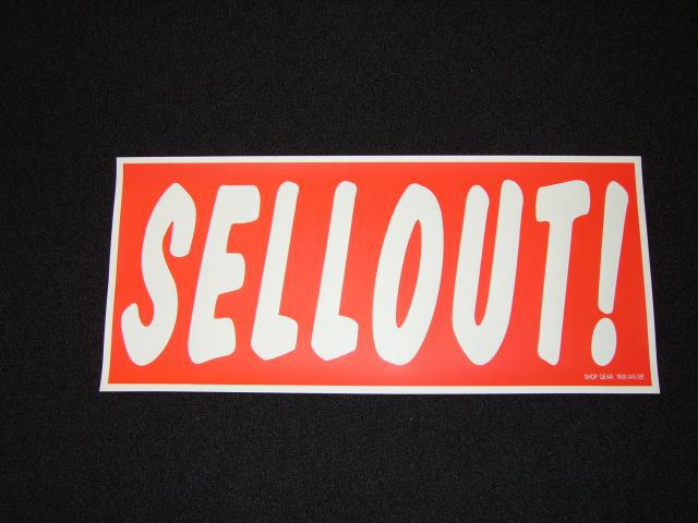 SELLOUT POSTER RED