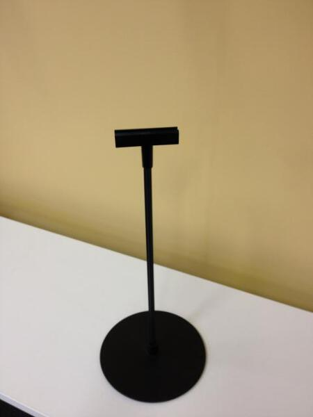 FRAME STAND 300mm HIGH  BLACK