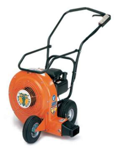 1 4 Hp Billy Goat Blower : Billy goat qb hc hp quiet wheeled blower