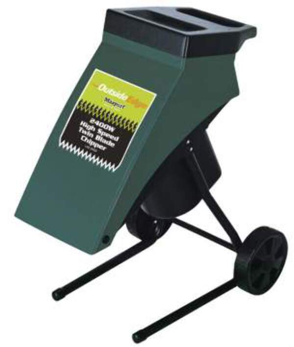 masport 2400 watt hi speed electric chipper shredder