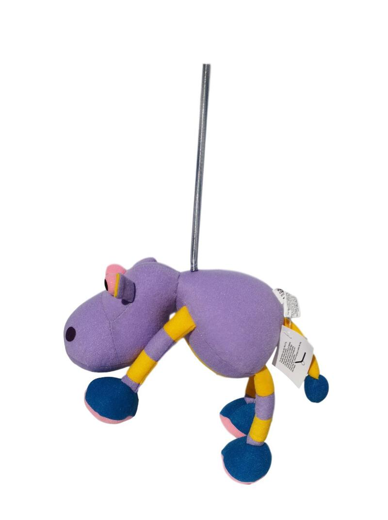 Springy Blue Elephant Panopoly Animal Mobile distraction for babies /& young chil