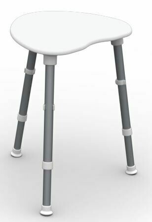 Picture of: Space Saver Corner Shower Stool Ebay