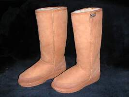 Long Premium Ugg Boot (Chestnut)