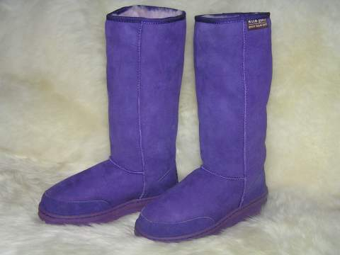 Long Premium Ugg Boot (Purple)