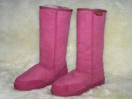 Long Premium Ugg Boot (Rose)