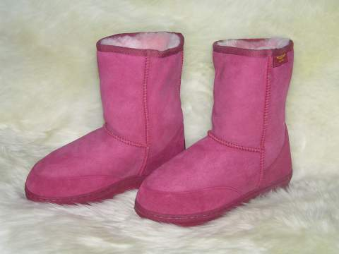 Short Premium Ugg Boot (Rose)