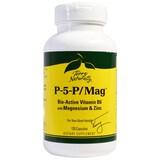 EuroPharma, P-5-P/Mag, 120 Capsules