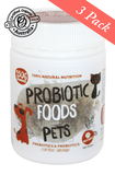 Probiotic Foods for Pets 150g x 3 [ min. 90 serves ]