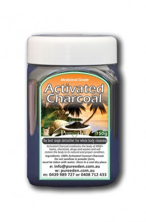 Activated Charcoal - Pure Eden - 70g -Trial Size