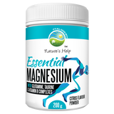 ESSENTIAL MAGNESIUM with Vitamin B3 Complex 200g Powder