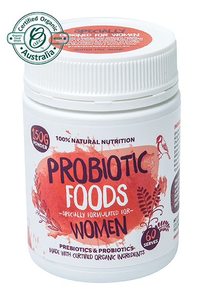 "Probiotic Foods ""Specially for Women"" x 600 capsules ( 300 serves )"
