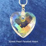 Harmonywear - Pearl Faceted Heart