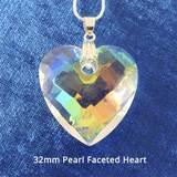 Harmonywear - Pearl Faceted Heart