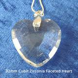 Harmonywear - Cubit Zirconia Faceted Heart