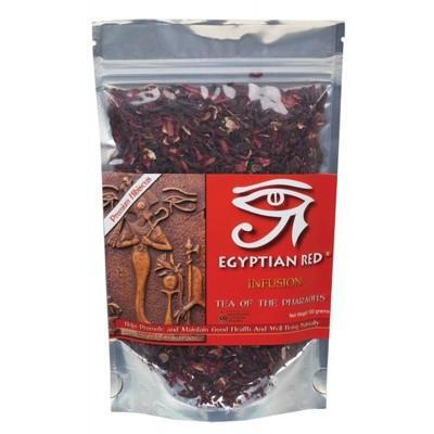 EGYPTIAN RED Herbal Loose Leaf Tea 100g