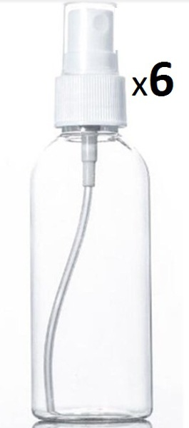 Applicator /Trigger Spray Top Bottles 130-140ml x 6