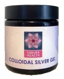 Colloidal Silver Gel 60ml Glass Jar x 2