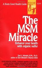 The MSM Miracle by Earl Mindell ( BOOK) + MSM Trial Amount (475g) - NOTE: Postage costs are the same as 1kg MSM