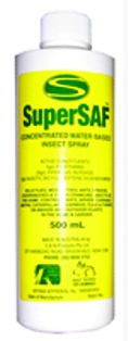 SuperSAF Insect Spray Concentrate 500ml Refill
