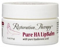"Hyaluronic Acid Premium Lip Balm ""100% natural ingredients""- Paraben-free & Unscented."