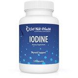 Iodine Capsules - Organic Iodine (from Kelp and Potassium Iodine) x 120 capsules