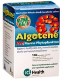 Algotene 180 Capsules - Red Marine Phytoplankton (Micro algae) - 2 for 1 stock clearance on low date