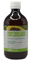 PawPaw Leaf Concentrate 500ml - Very refreshing ! ON SPECIAL
