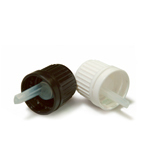 18mm T/E Cap + Dripolater - White or Black - ( Specify your preference please) x 10 pieces