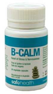 B-Calm for Relief of Stress & Nervousness - 60 Vege Capsules