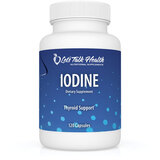 Iodine Capsules - Organic Iodine (from Kelp and Potassium Iodine) x 240 capsules - 2 bottles for same postage as 1