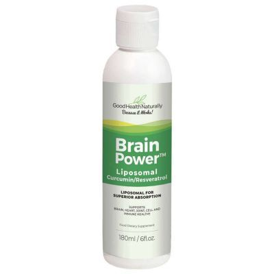Liposomal Curcumin Plus (Brainpower)