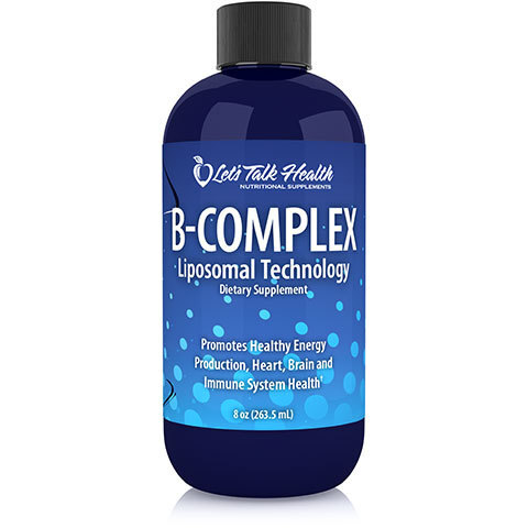 B-Complex Liposomal 200ml - Contains B12 - ON SPECIAL  Was $75.00