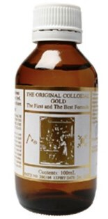 Colloidal Gold 100ml - Natural Gold In Distilled Mountain Rainwater