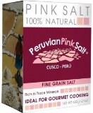 Peruvian Pink Salt - Fine Grain 600g