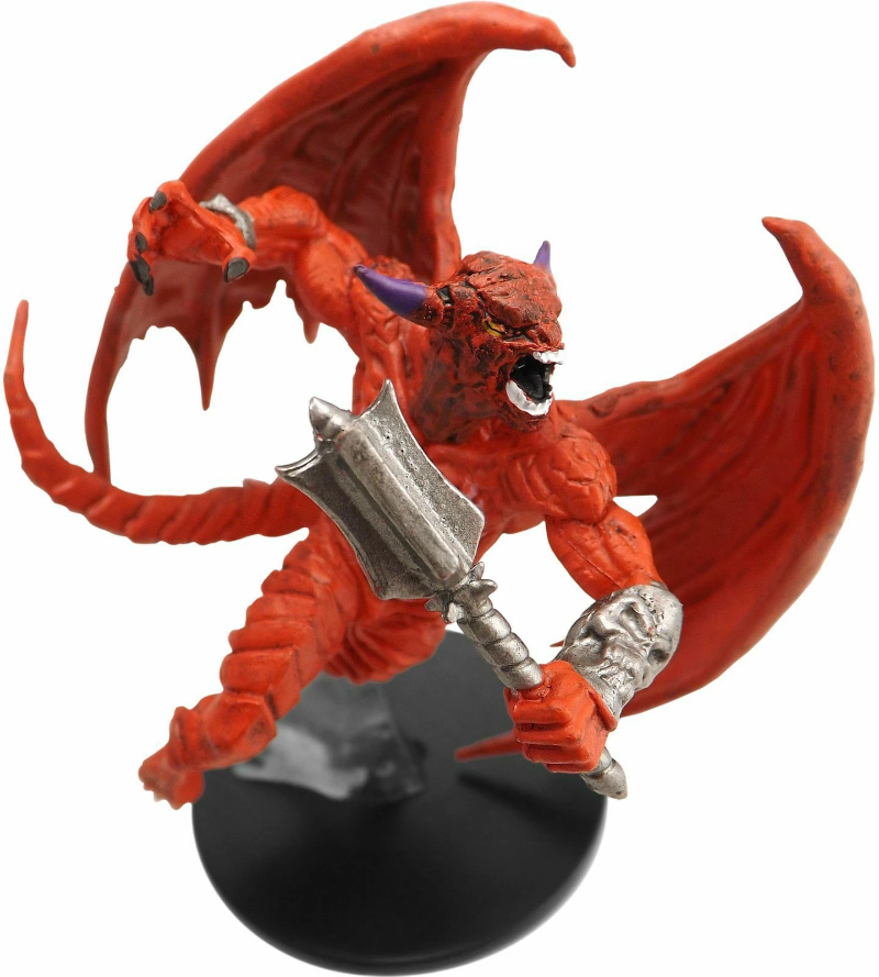 #32b//44 D/&D Icons of the Realms Waterdeep Dragon Heist Mace Pit Fiend