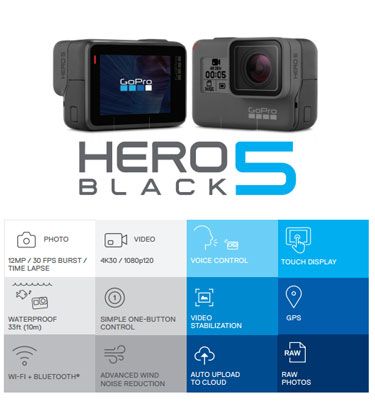 GoPro HERO6 3-Axis Image Stabilisation