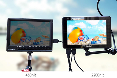 FeelWorld LUT7S 7inch 3D LUT 4K HDMI and SDI Monitor - Image2