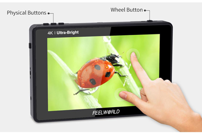 FeelWorld LUT7S 7inch 3D LUT 4K HDMI and SDI Monitor - Image6