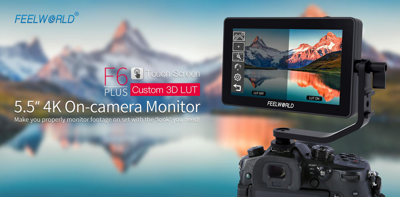 FeelWorld F6 Plus 5.5inch 4K HDMI Monitor - Image1
